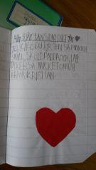 Jag skrev detta till min älskade Kiko när jag gick i 2an